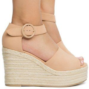 Women's Closed Heel Sandal DARK NUDE
